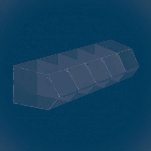 Диспенсер прямоугольный из 5 секций