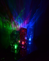 Фонарик - ночник цветной