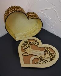 Шкатулка - сердце