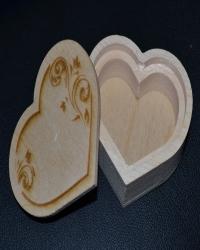 Шкатулка - сердце №1