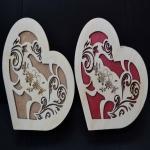 Шкатулка - сердце малая